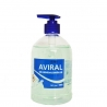 Dezinfekcinis hidroalkoholinis rankų gelis AVIRAL 500 ml.